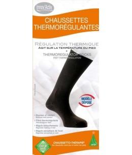 Chaussettes thermorégulantes