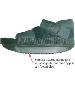 Chaussure décharge avant-pied