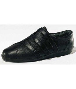 Chaussure Attitude cuir noir Adour