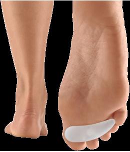 Coussinet d'orteil en silicone