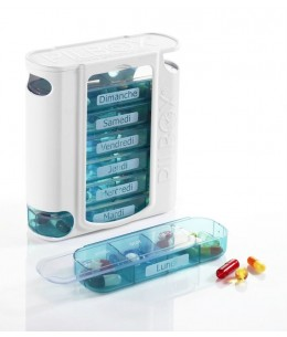 Pilulier hebdomadaire Pilbox 7