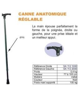 CANNE POIGNEE ANATOMIQUE